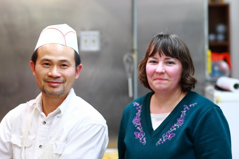 Yawei and Tracy Liang started Oriental Kitchen in January of 2003.