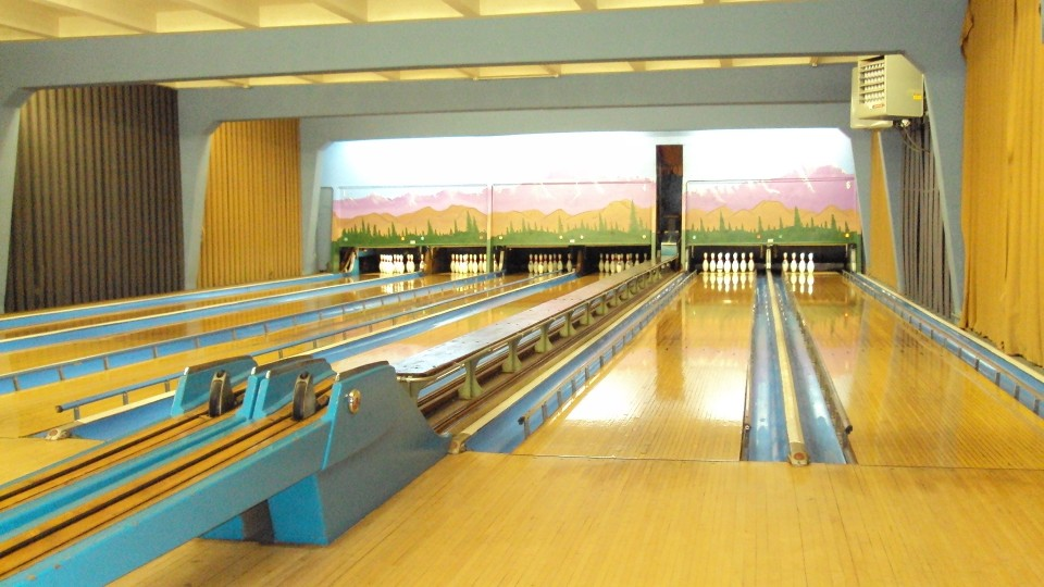 Dickinson House 6 lane bowling alley.