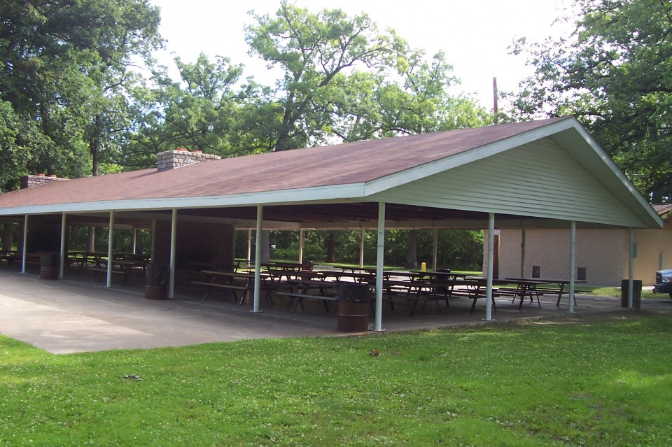 Front Shelter - side view