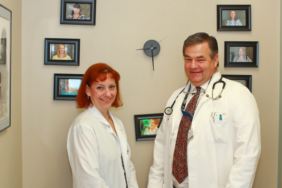 Kelly DeBoer, MD and David O'Donnel, DO
