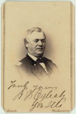Richard Oglesby served under the command of Ulysses S. Grant